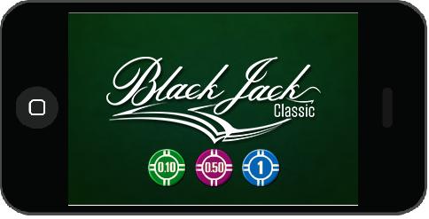 Blackjack spelen iPhone